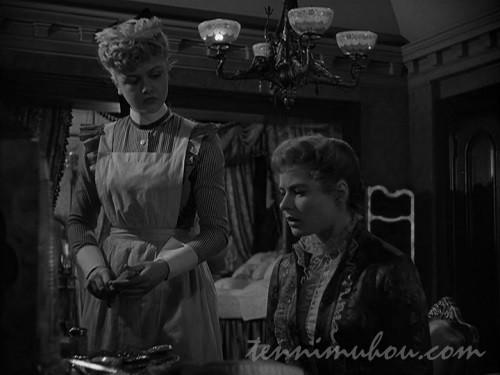 【ガス燈(1944)】イングリッド・バーグマンとアンジェラ・ランズベリー