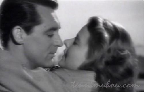 【汚名(1946)】ケーリー・グラントとイングリッド・バーグマン