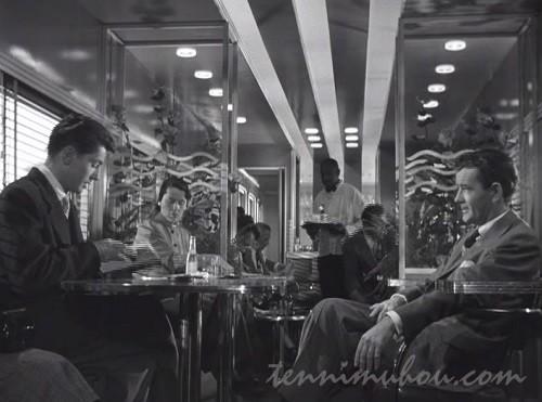 【見知らぬ乗客】ファーリー・グレンジャーとロバート・ウォーカー